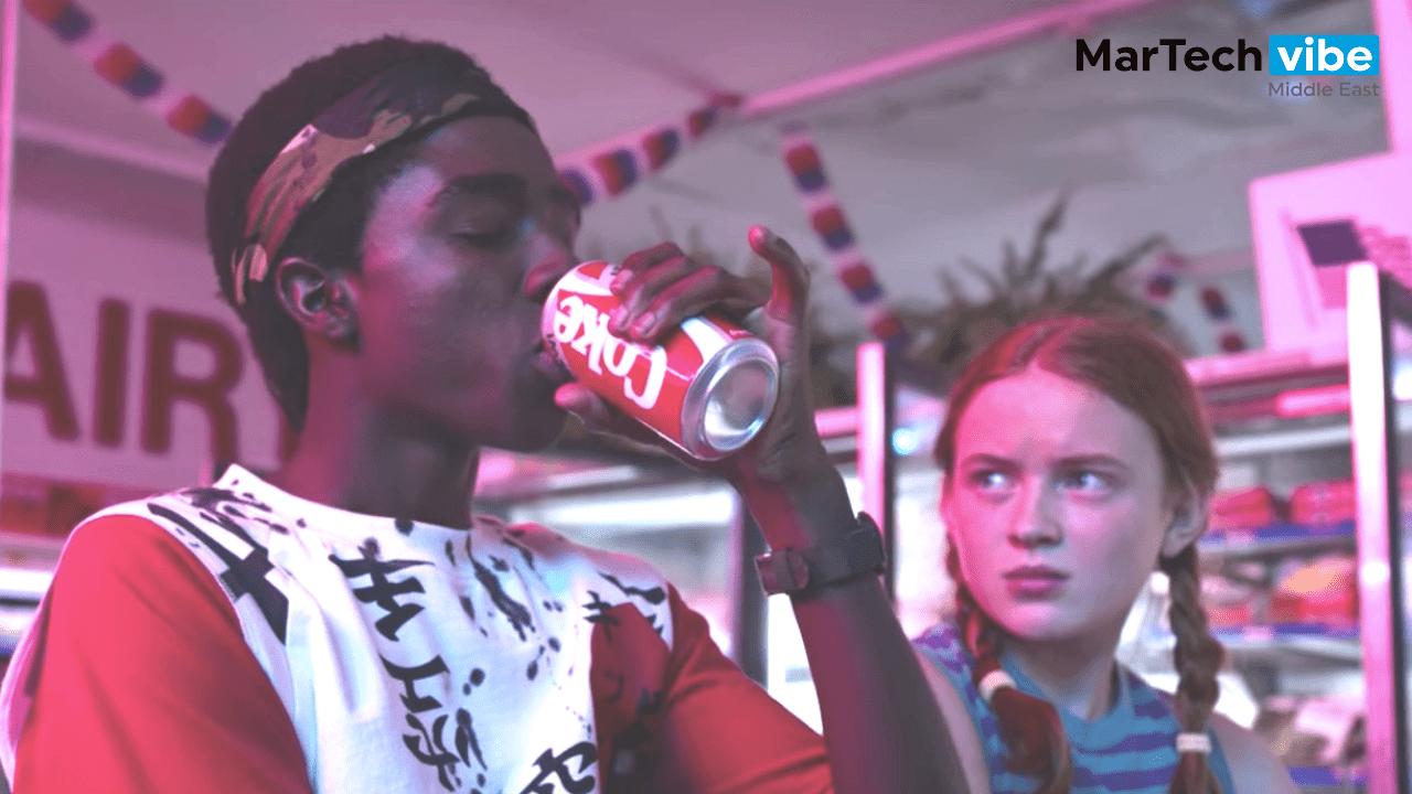 Stranger Things Season three Coke scene