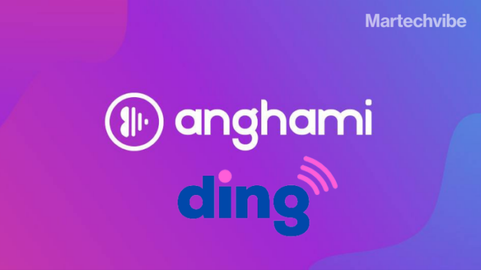 Anghami Chooses Ding to Keep the Music Playing