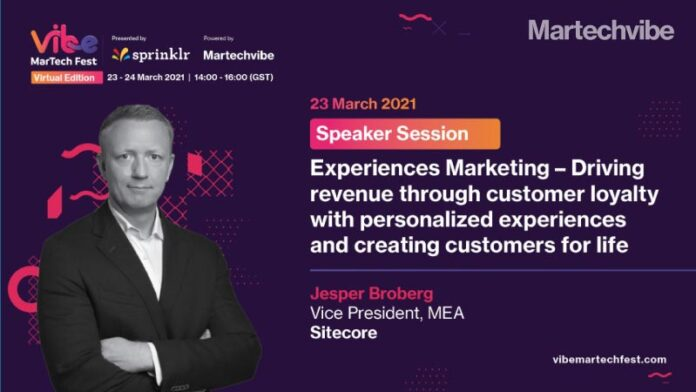 VMF 2021 Experiences Marketing – Driving Revenue Through Customer Loyalty With Personalised Experiences