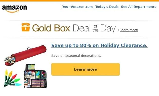 Email Marketing Lessons_Amazon